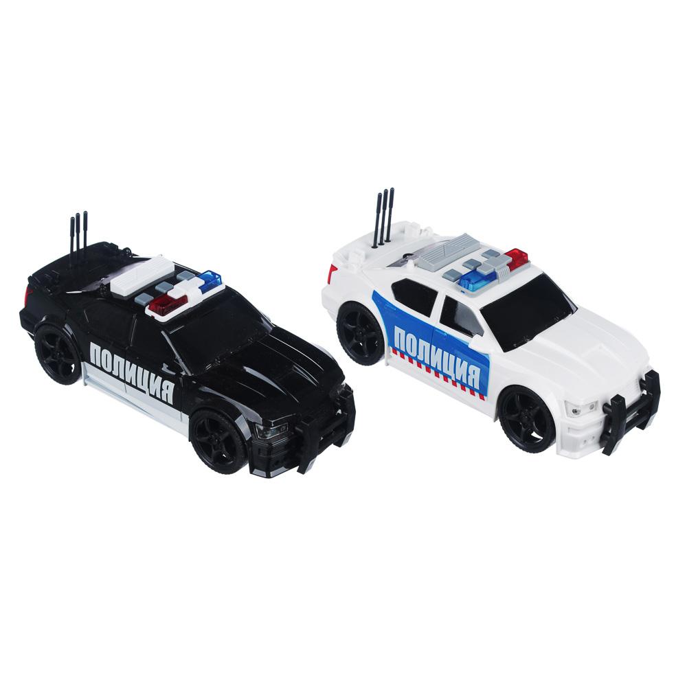 ИГРОЛЕНД Полицейский патруль, ABS, 3хLR44, свет, звук, инерция, 23,5х11х15,5см, 2 дизайна - 5