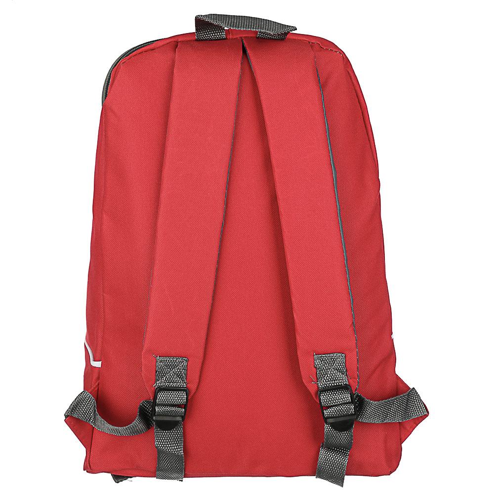Рюкзак подростковый 40x30х17см, 1отд. на молнии, полиэстер, 3 цвета, ПРОМО - 5