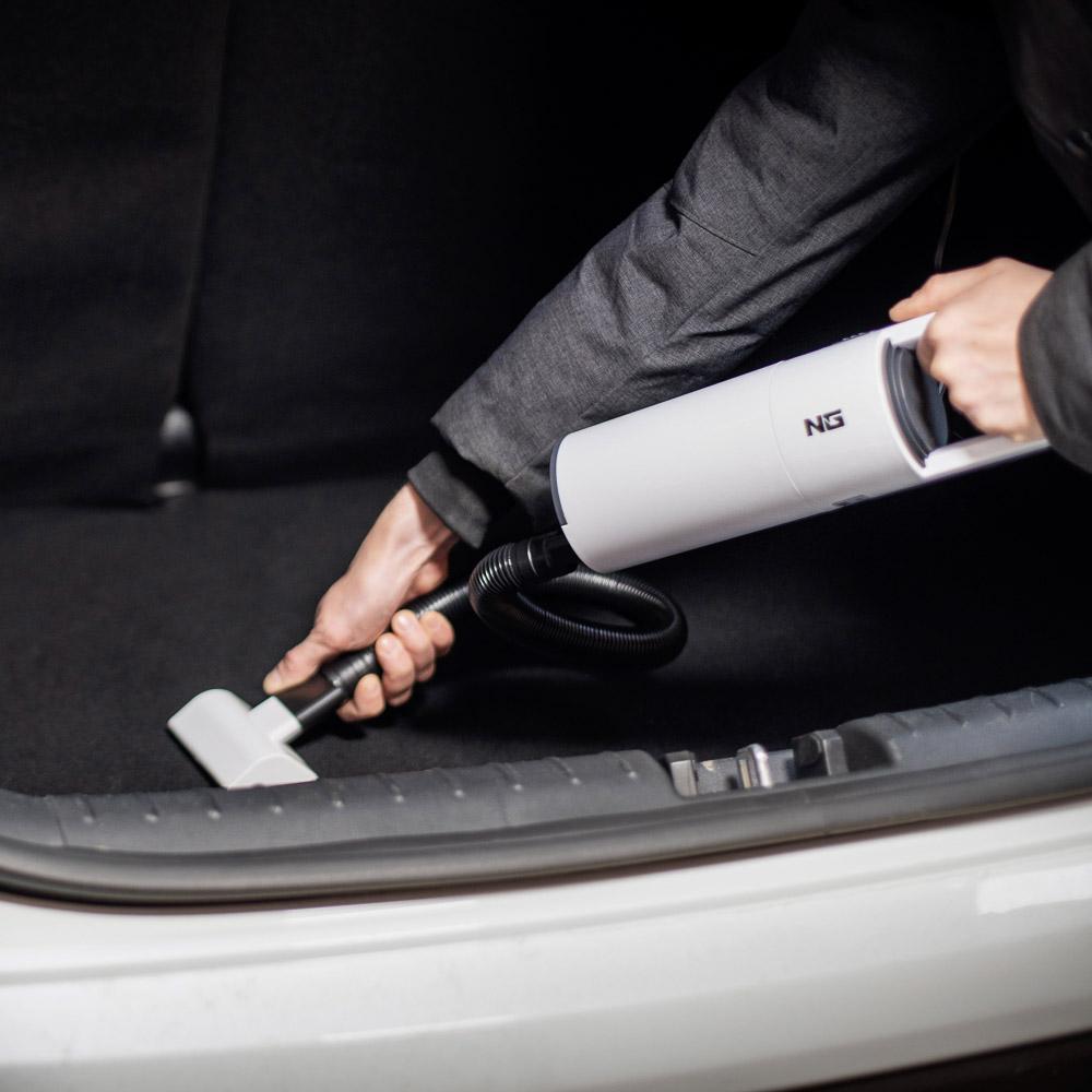 NG Пылесос автомобильный, 150Вт, 2 насадки, сухая и влажная уборка, провод 3м, 12В - 7
