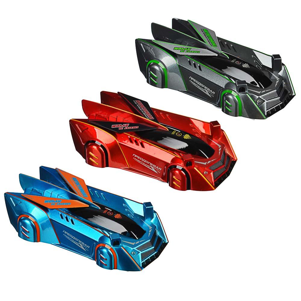 ИГРОЛЕНД Автомобиль-стенолаз с ИК пультом, ABS, 27,5х21х8см, 3 дизайна - 4