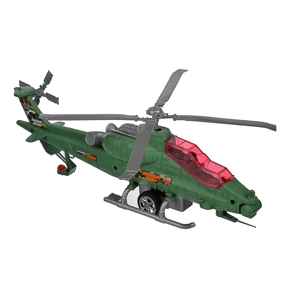 ИГРОЛЕНД Вертолет с механическим стартером, PP, 29-30х10-, 2 дизайна - 2