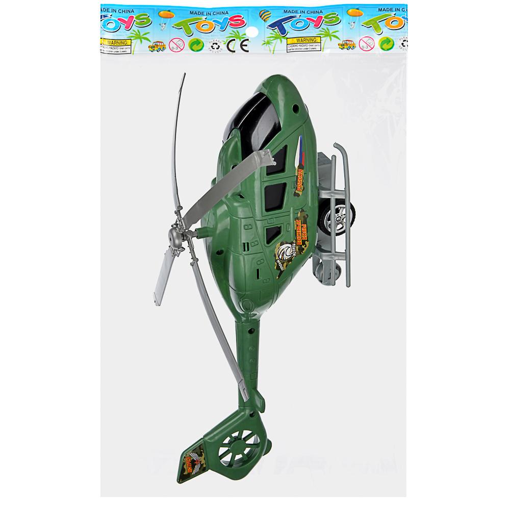 ИГРОЛЕНД Вертолет с механическим стартером, PP, 29-30х10-, 2 дизайна - 4