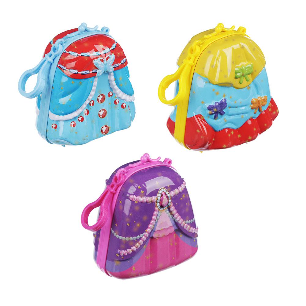 ИГРОЛЕНД Кукла сюрприз в чемоданчике 7 в 1, металл, PP, 6 дизайнов - 3