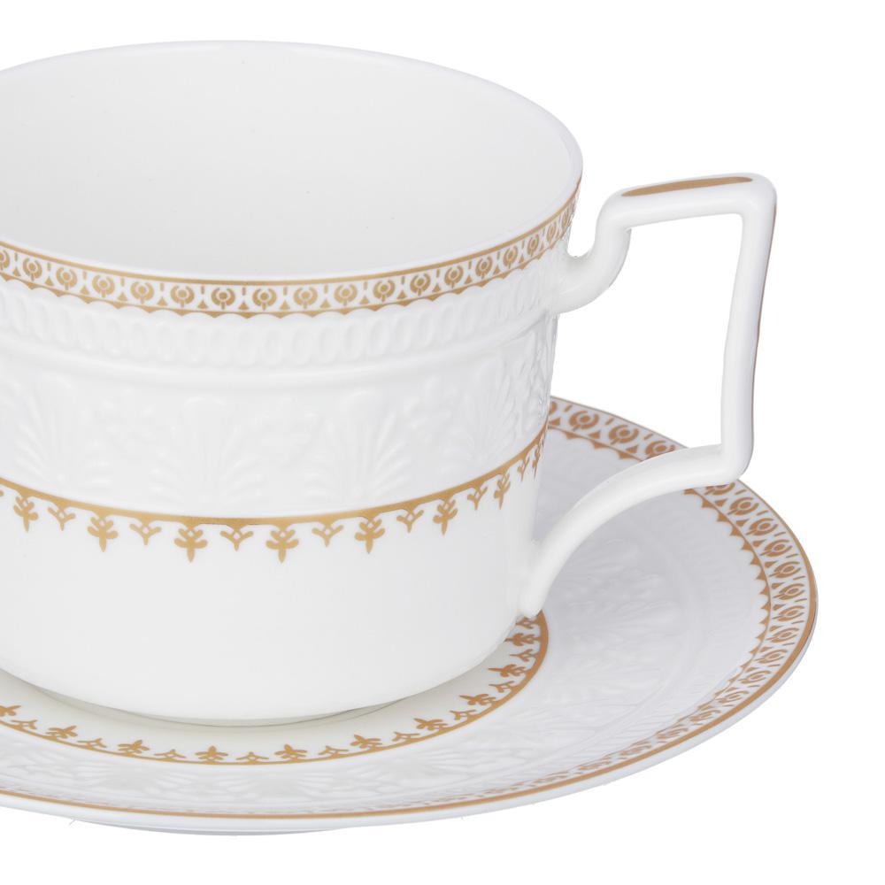 MILLIMI Наполеон Набор чайный 14 пр., чашка 300мл, чайник 1250мл, сахарница 350мл, кост. фрф - 3