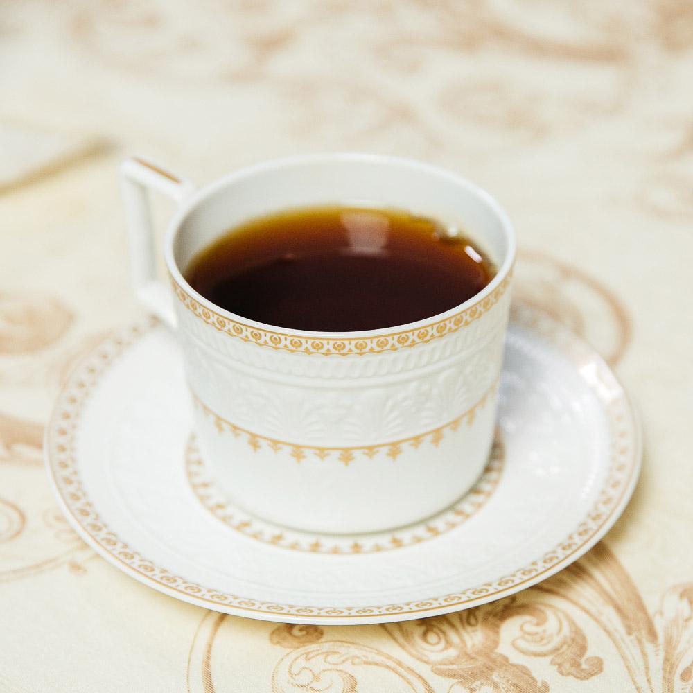 MILLIMI Наполеон Набор чайный 14 пр., чашка 300мл, чайник 1250мл, сахарница 350мл, кост. фрф - 8