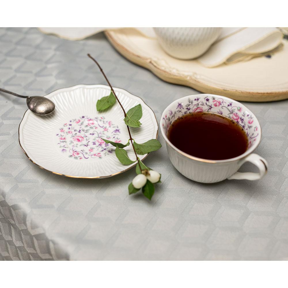MILLIMI Пастораль Набор чайный 14 пр., чашка 250мл, чайник 900мл, сахарница 280 мл, кост. фрф - 8
