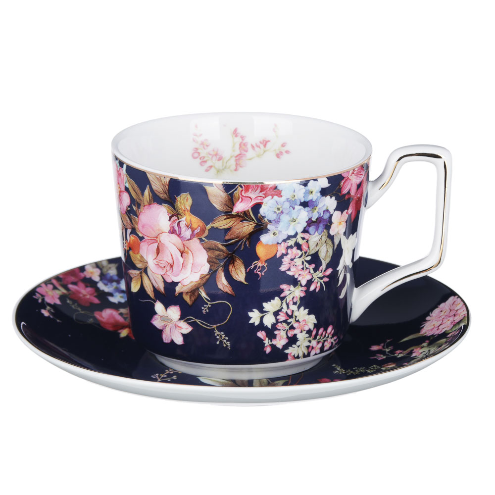 MILLIMI Японский сад Набор чайный 2 пр., 260мл, костяной фарфор, 4 дизайна - 2