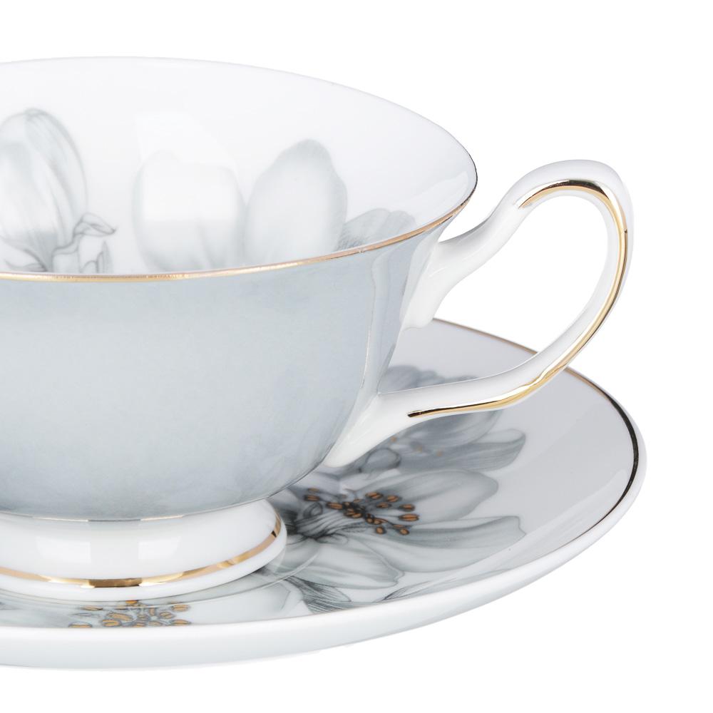 MILLIMI Иллюзия Набор чайный 12 пр., 220мл, костяной фарфор - 2