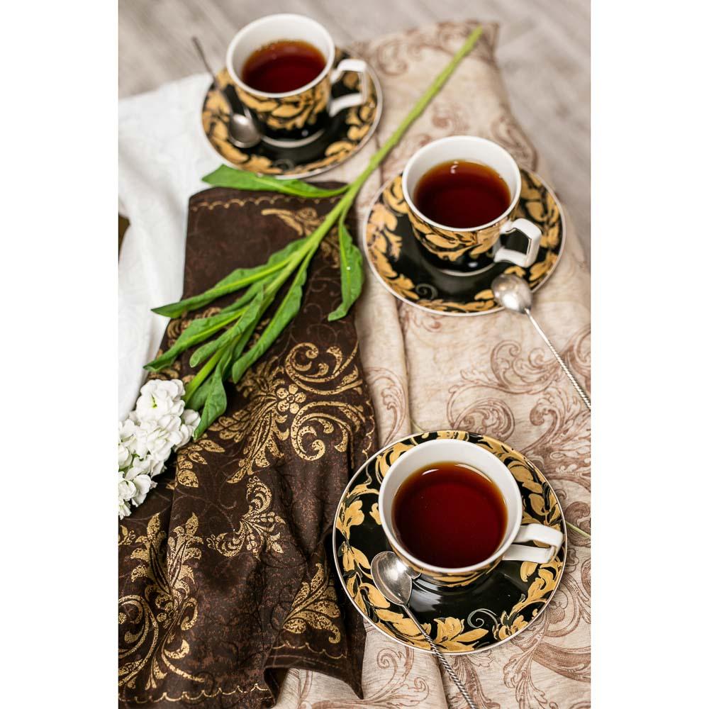 MILLIMI Император Набор чайный 12 пр., 260мл, костяной фарфор - 6
