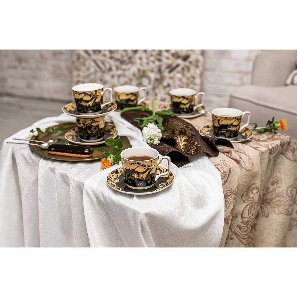 MILLIMI Император Набор чайный 12 пр., 260мл, костяной фарфор - 7
