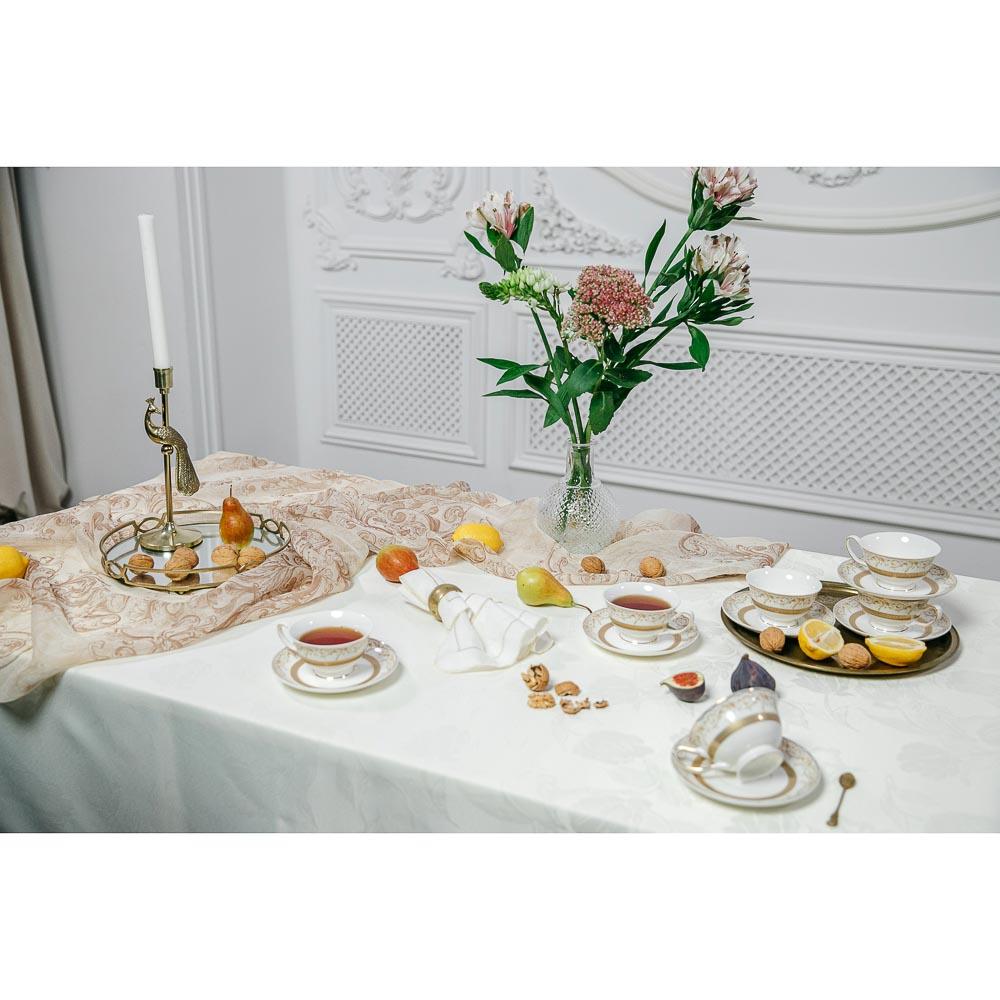 MILLIMI Муза Набор чайный 12 пр., 220мл, костяной фарфор - 7