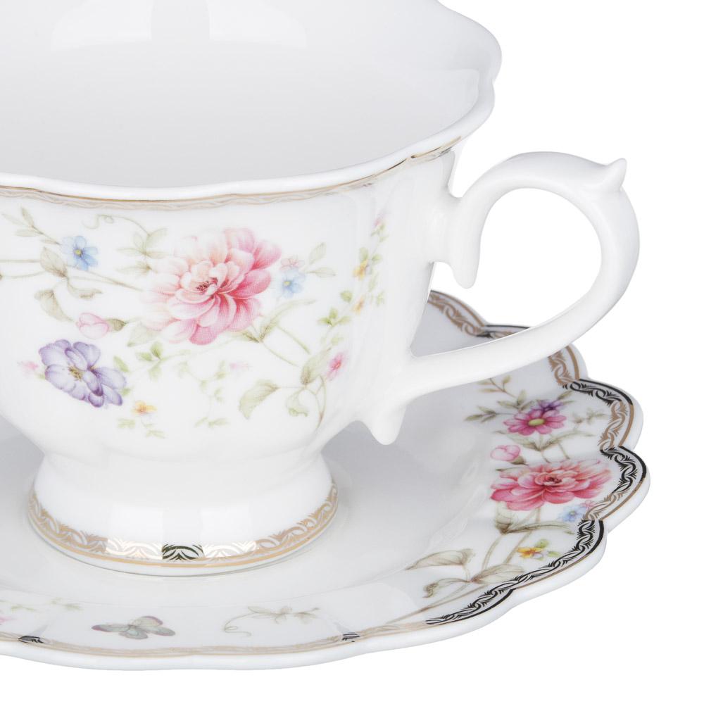 MILLIMI Антуанетта Набор чайный 12 пр., 220мл, костяной фарфор - 2