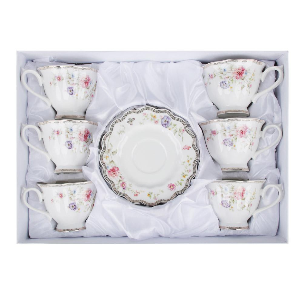 MILLIMI Антуанетта Набор чайный 12 пр., 220мл, костяной фарфор - 3