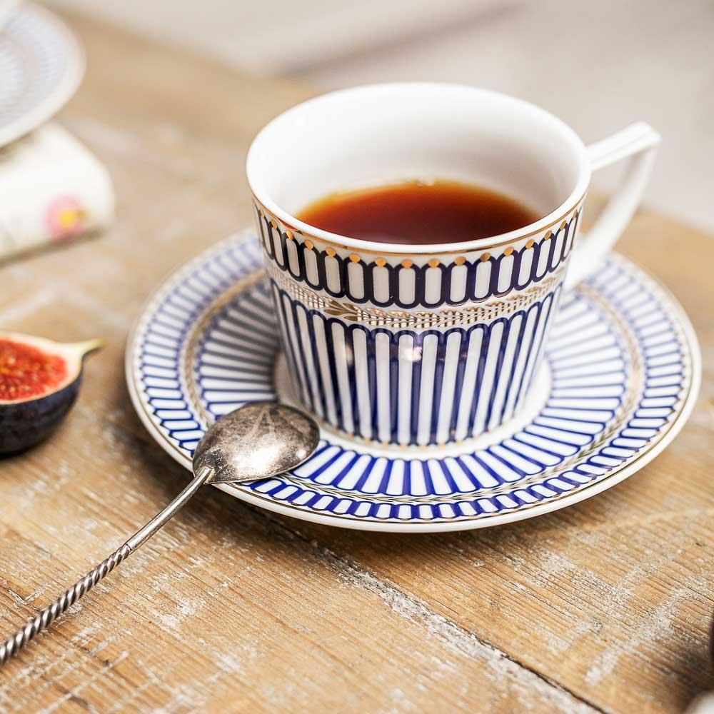 MILLIMI Граф Набор чайный 12 пр., 250мл, костяной фарфор - 5