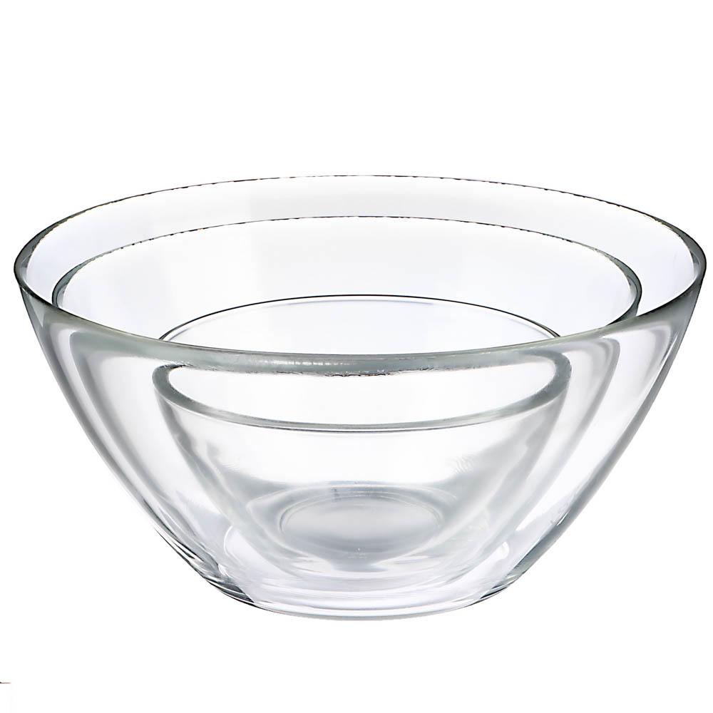 """LUMINARC Набор из 3-х салатников """"Космос"""": 12,5см, 17см, 20см, стекло - 3"""