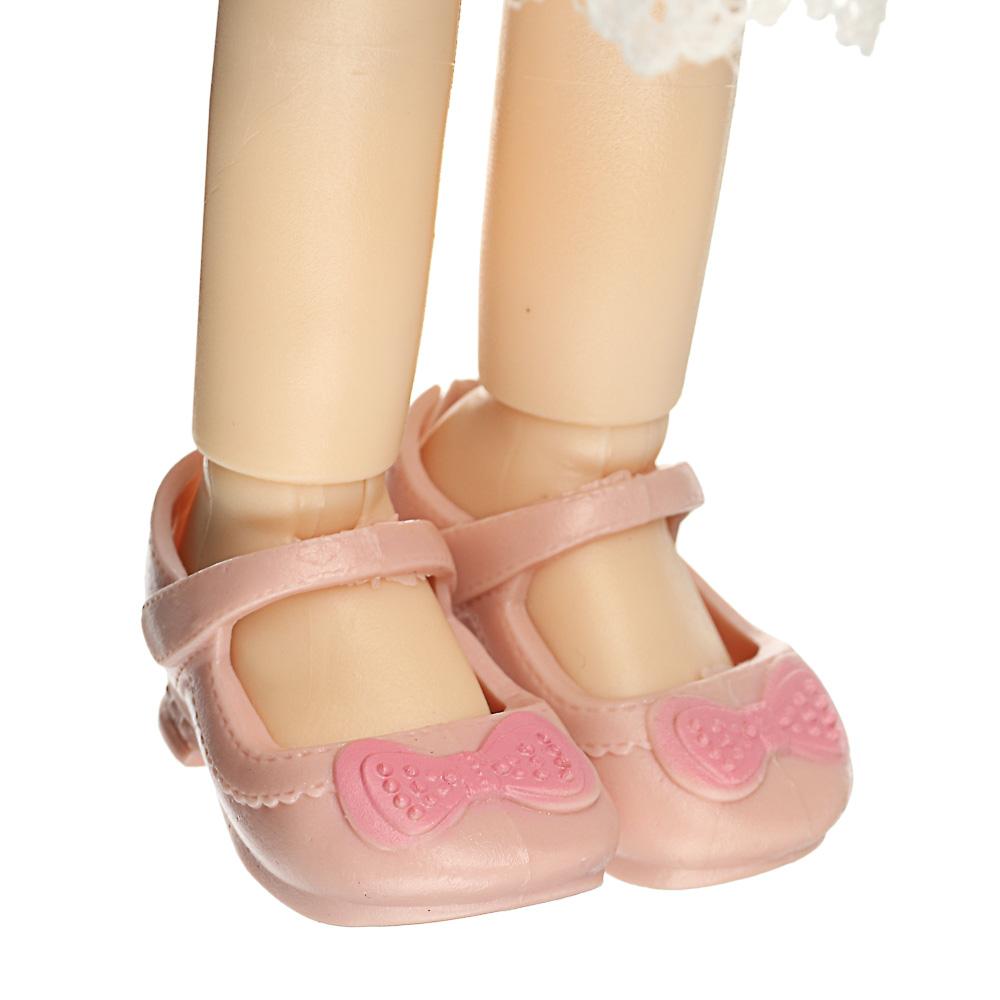 ИГРОЛЕНД Кукла классическая шарнирная, коллекционная, 28см, PP,PVC, полиэстер, 20х31х7см, 4 дизайна - 6