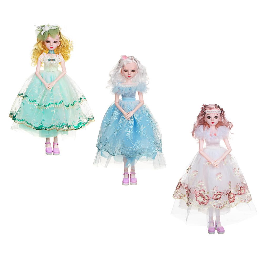 ИГРОЛЕНД Кукла коллекционная шарнирная, 60см, пластик, полиэстер, 3 дизайна - 2