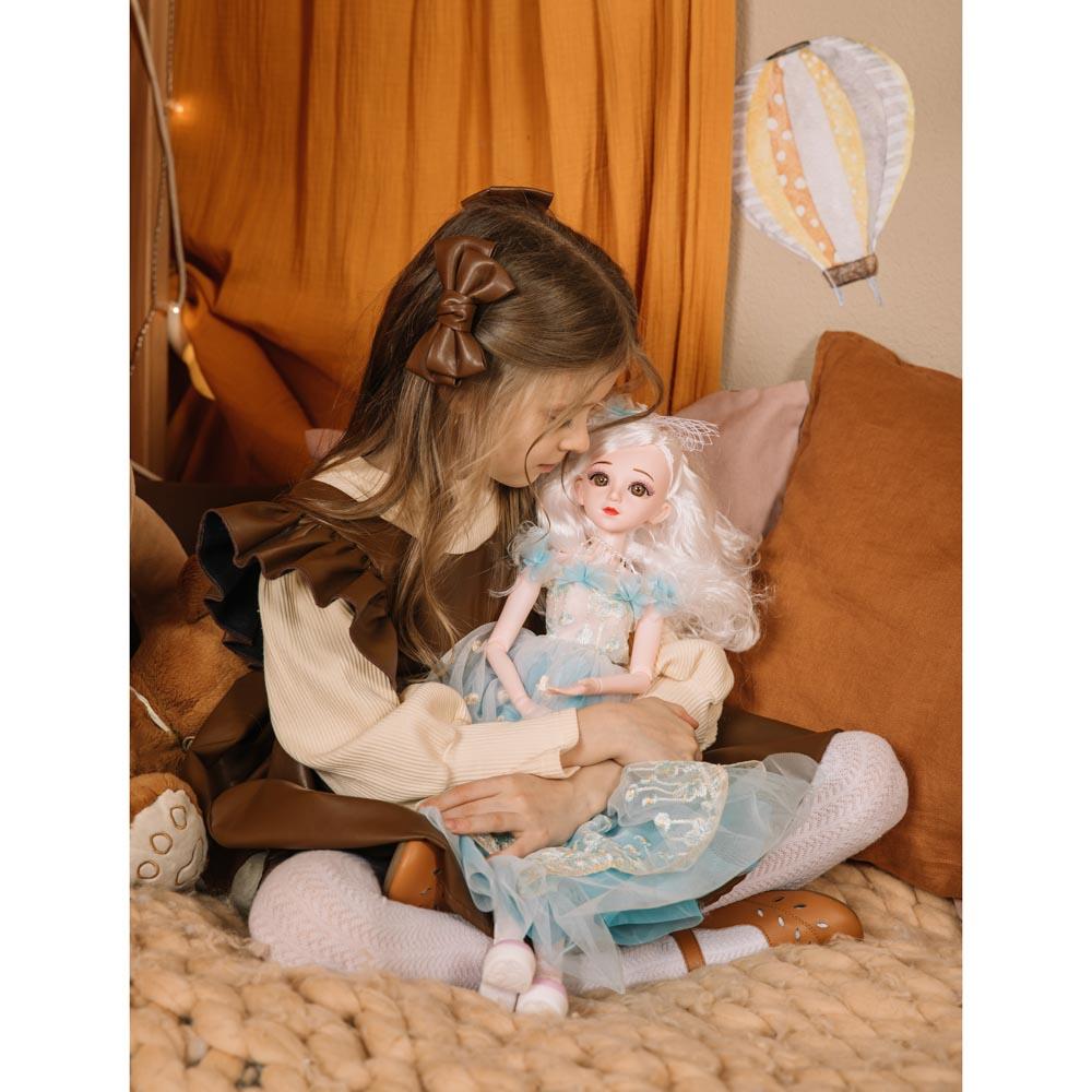 ИГРОЛЕНД Кукла коллекционная шарнирная, 60см, пластик, полиэстер, 3 дизайна - 4
