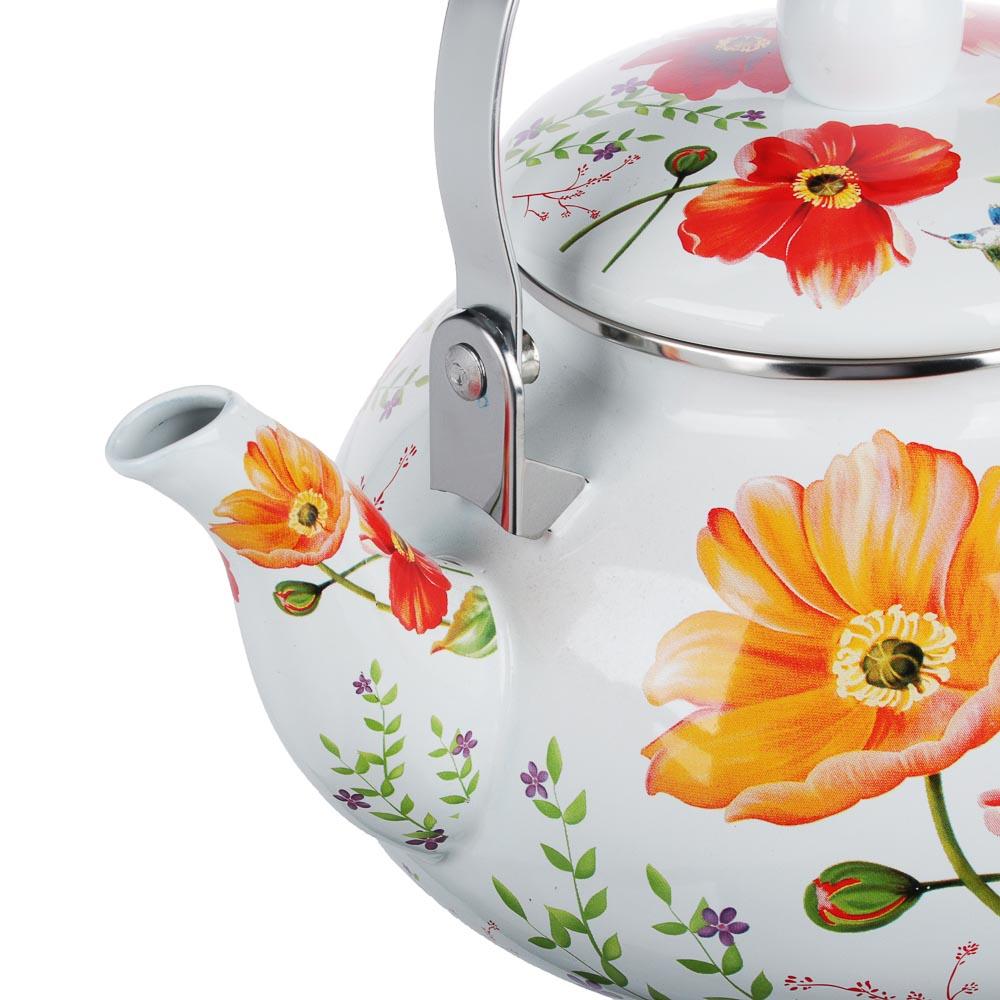 VETTA Букет Чайник эмалированный 2,5л, индукция - 2