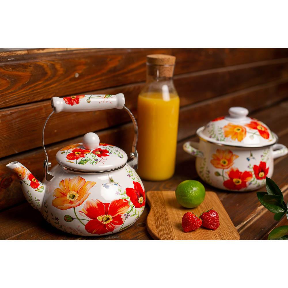 VETTA Букет Чайник эмалированный 2,5л, индукция - 5