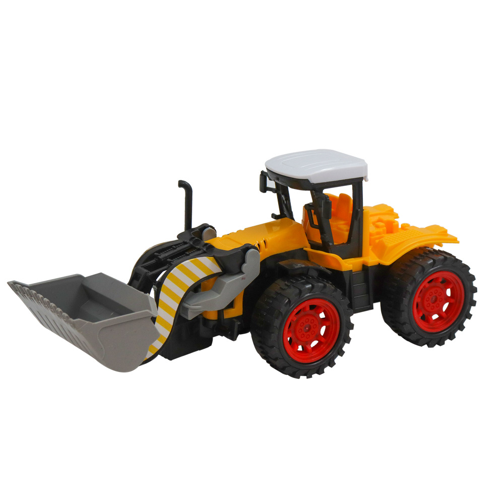 ИГРОЛЕНД Машина в виде Трактора, инерционного, PP, 27х11х12см, 4 дизайна - 7