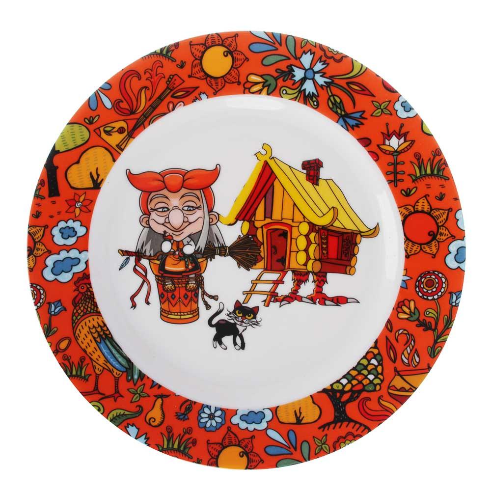 MILLIMI Бабуся Ягуся Набор детской посуды 3 предмета, костяной фарфор - 2