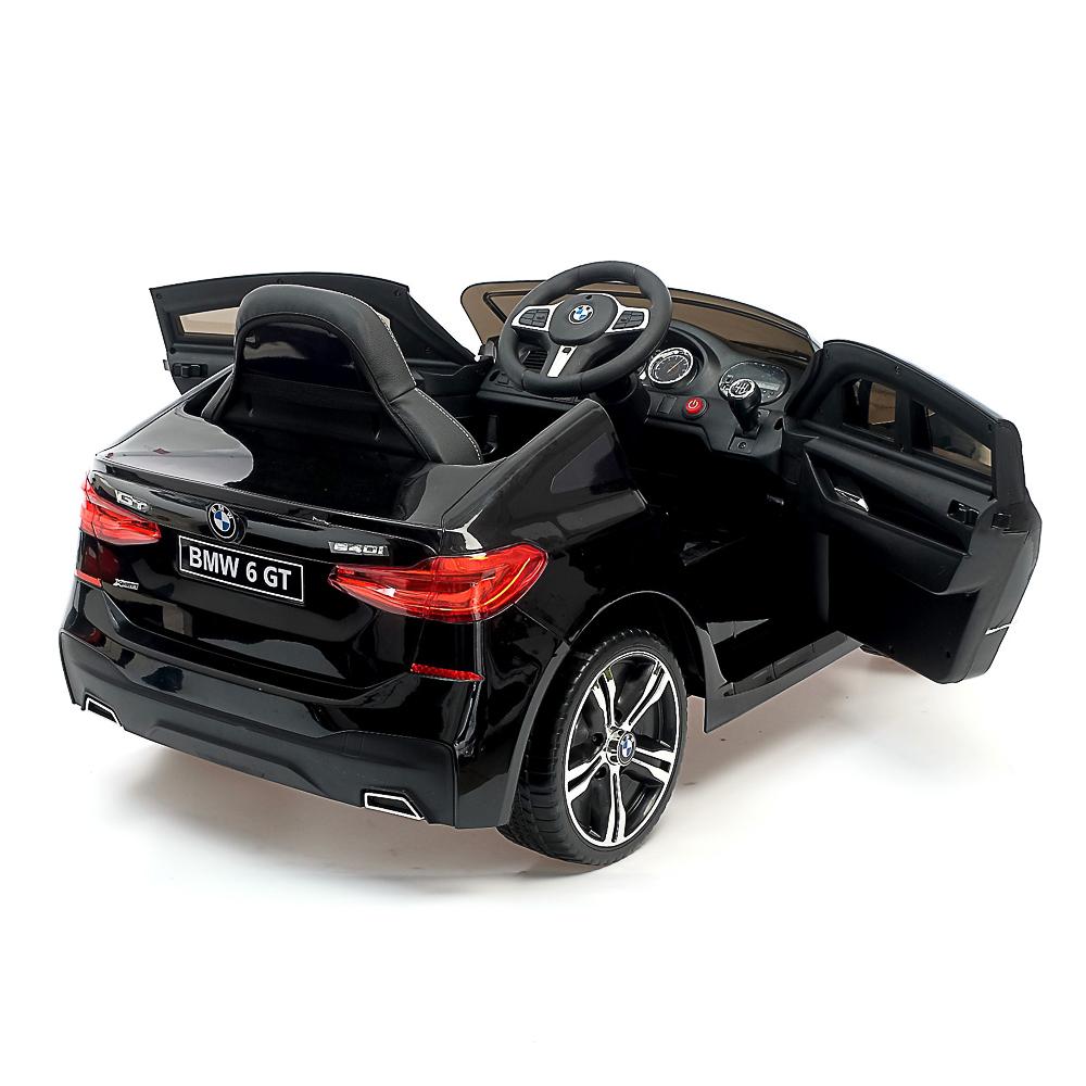 "Электромобиль ""BMW 6 Series GT"", 106х64х51см, пластик, EVA колеса, кожа, черный - 2"