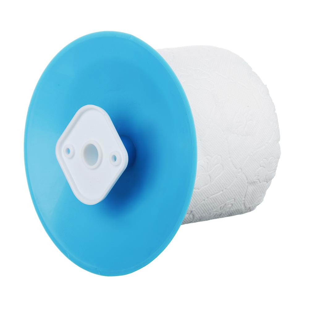 """Набор для туалета 2 пр. """"Классика"""" (ёрш, держатель для туалетной бумаги), пластик, 3 цвета - 4"""