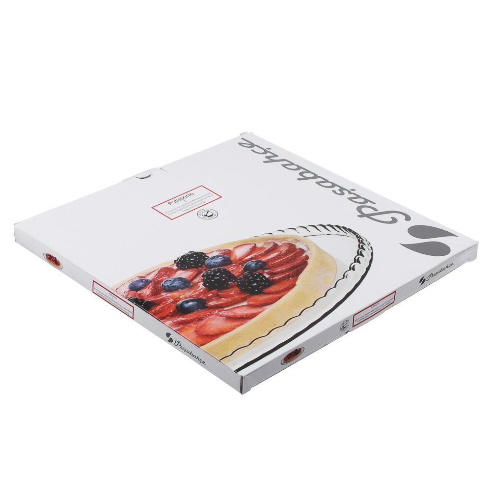 """Pasabahce блюдо d. 32,2 cм, закаленноестекло,""""patisserie"""", виндивидуальнойуп. - 3"""