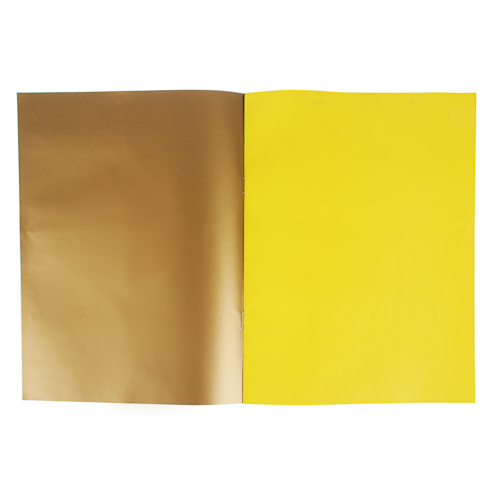 """ClipStudio Бумага цветная """"Альфа"""" мелов.офсет, 2-стор., 10л., 19х27,5см, 10цв.(вкл.золот. и серебр.) - 2"""