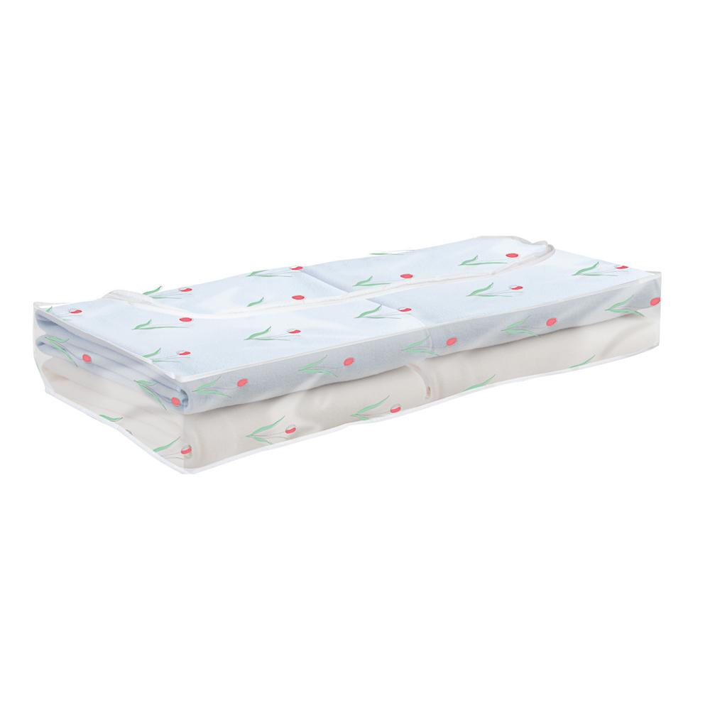 VETTA Винсент Кофр для хранения под кроватью подушек и одеял, ПЕВА, 102х45х15см, 2 дизайна - 2
