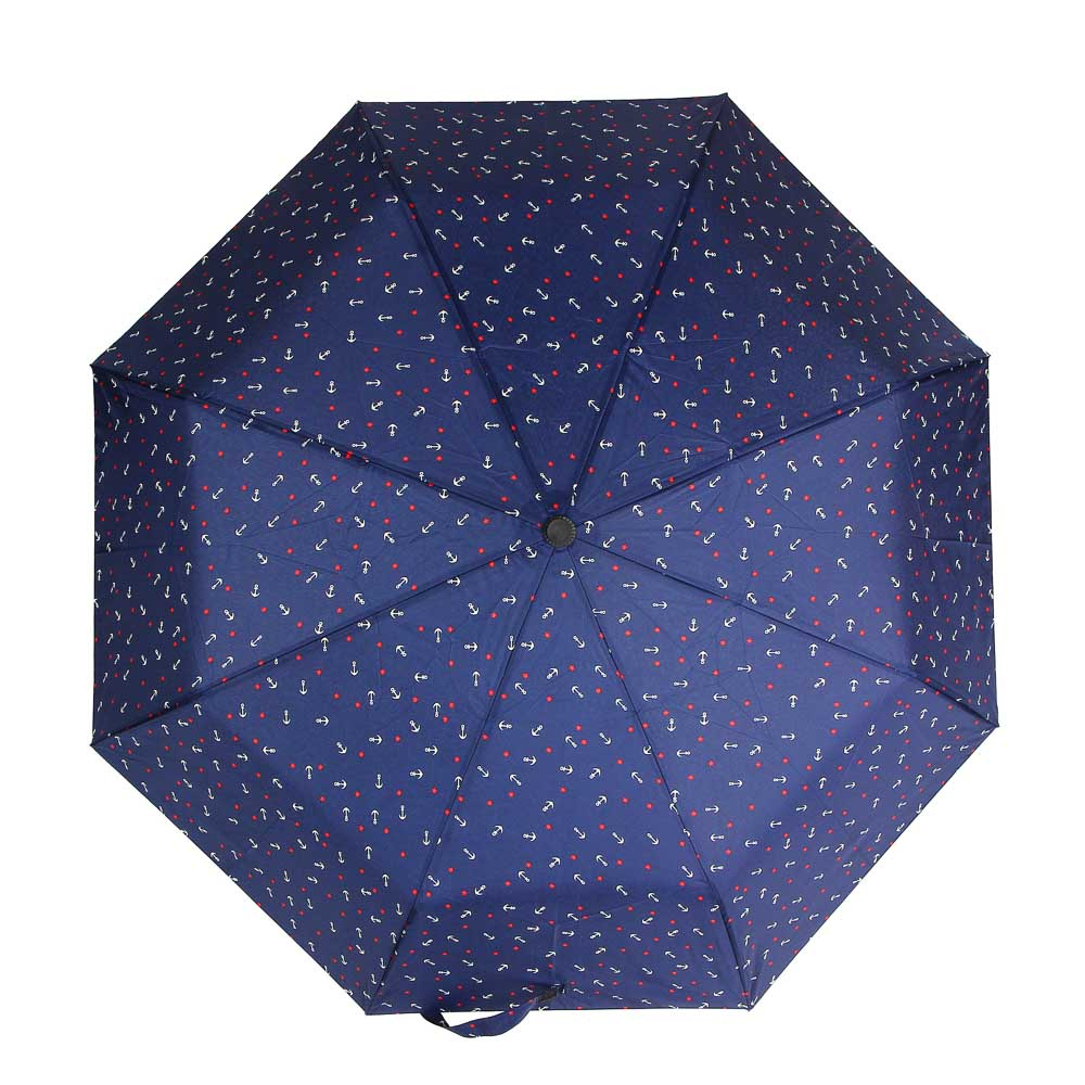 Зонт женский, автомат, пластик, сплав, полиэстер, 53,5см, 8 спиц, 3 цвета - 4