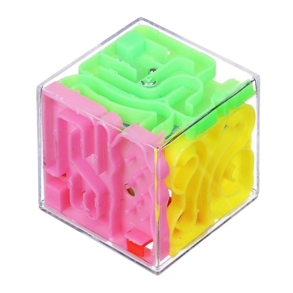 ИГРОЛЕНД Кубик головоломка Лабиринт, пластик - 2