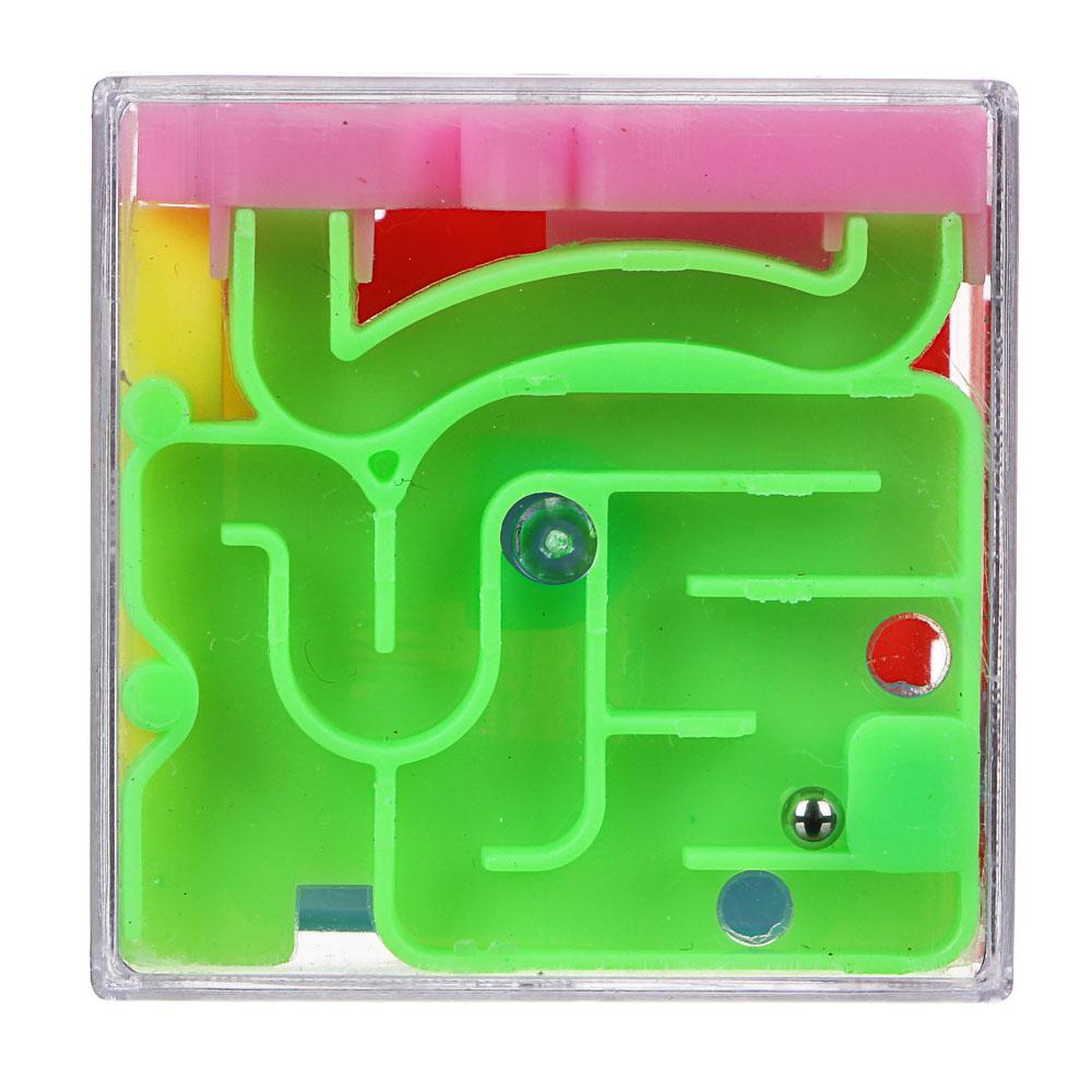 ИГРОЛЕНД Кубик головоломка Лабиринт, пластик - 3