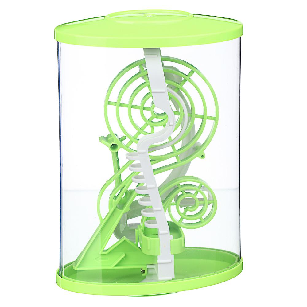 ИГРОЛЕНД Головоломка 3D лабиринт, пластик, 13х21см, 2 дизайна - 3