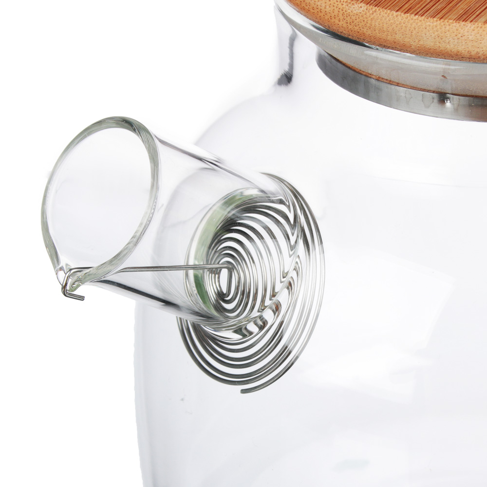 VETTA Чайник заварочный 1000мл, с металлическим фильтром, стекло - 3