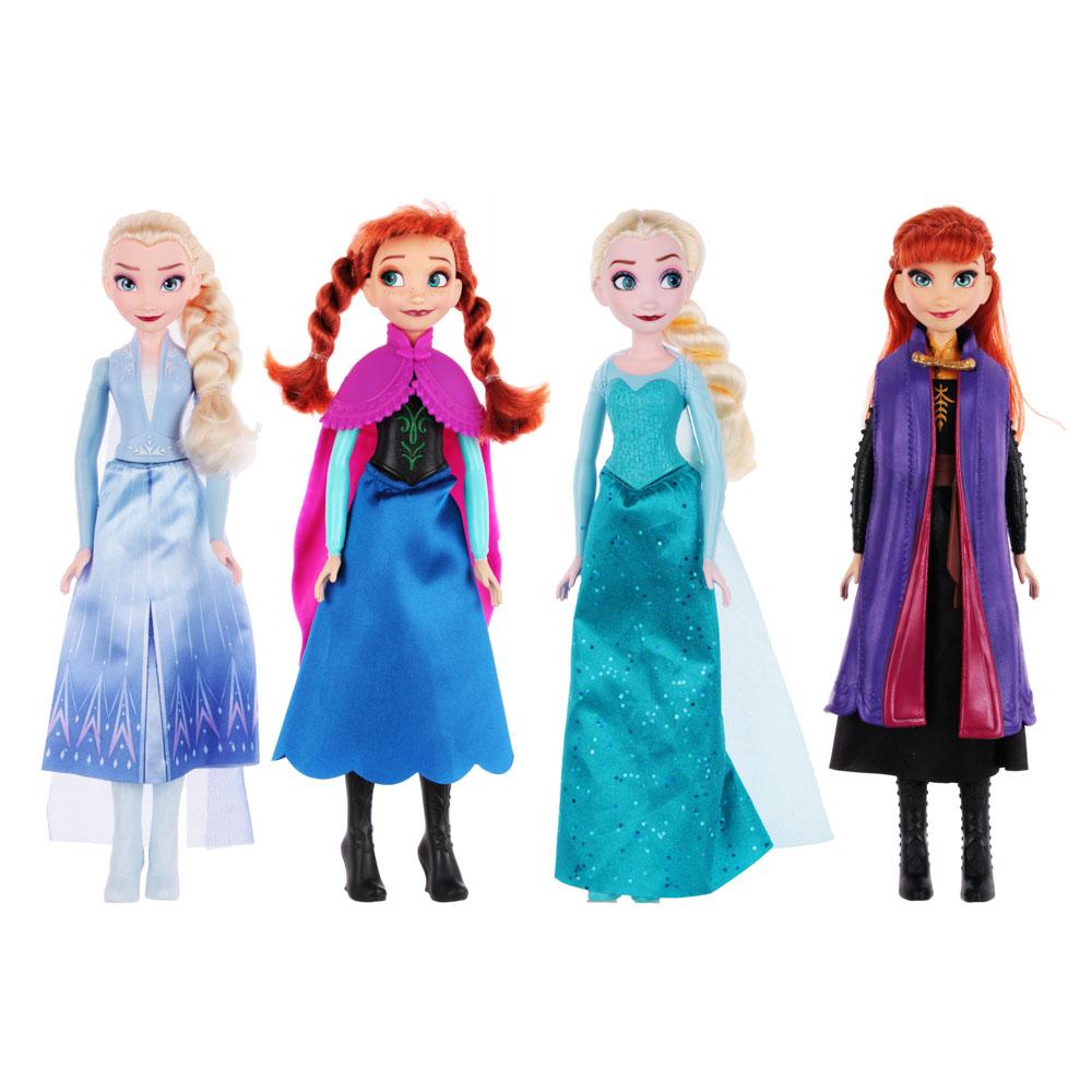 HASBRO Кукла Disney Frozen, 28см, пластик, полиэстер, 4 дизайна - 4