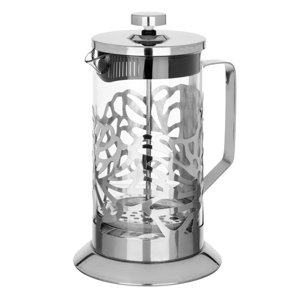 SATOSHI Гельсингфорс Френч-пресс 1000мл, жаропрочное стекло, 4 дизайна - 2