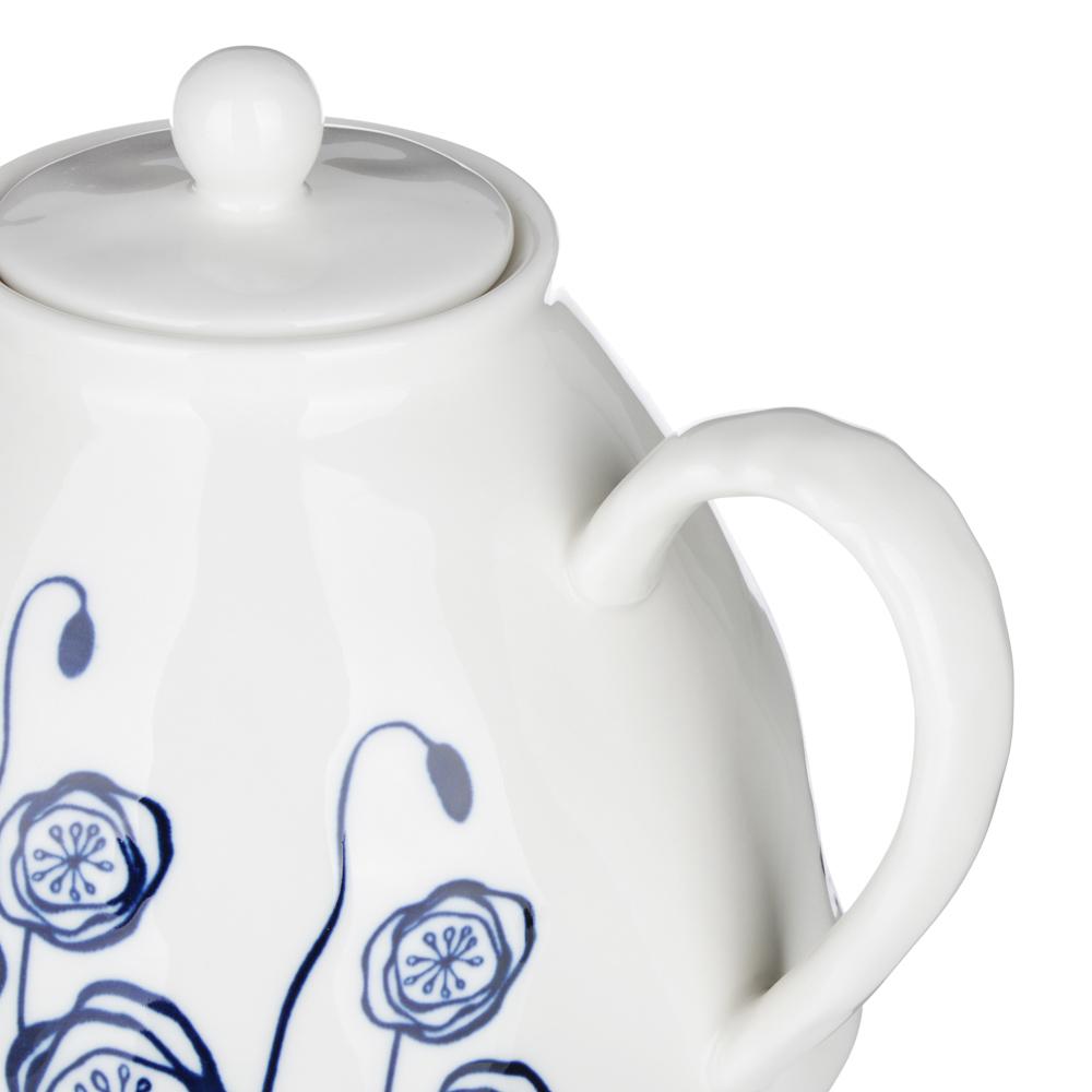 MILLIMI Индиго Чайник заварочный, 1100мл, 19,5х16х13,5см, керамика - 2