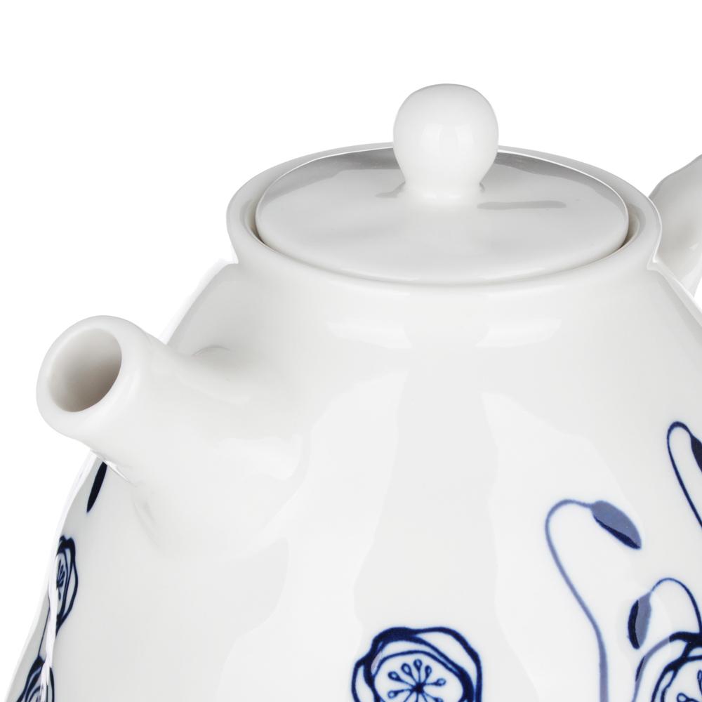 MILLIMI Индиго Чайник заварочный, 1100мл, 19,5х16х13,5см, керамика - 3