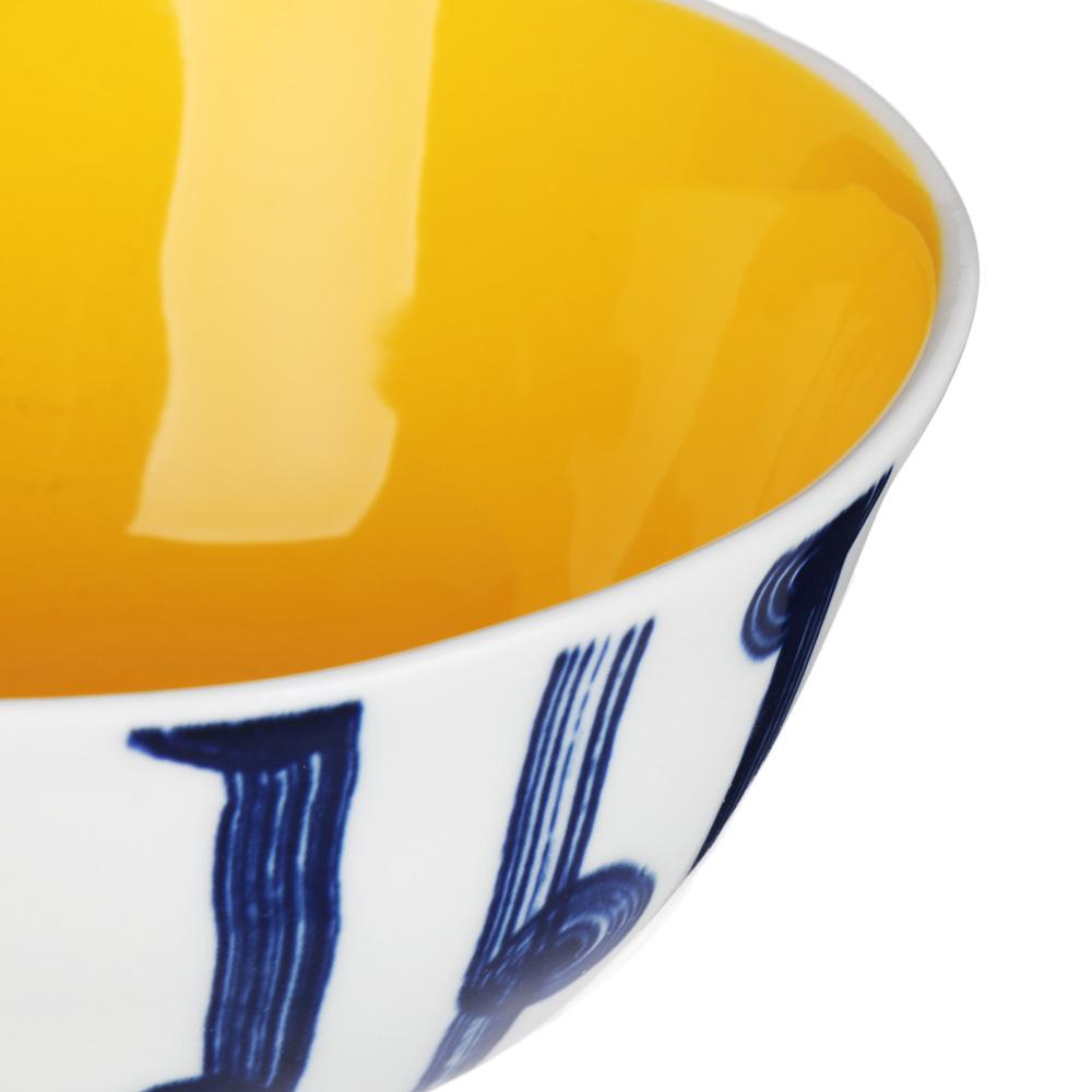 MILLIMI Индиго Салатник, 16х7см, керамика - 3