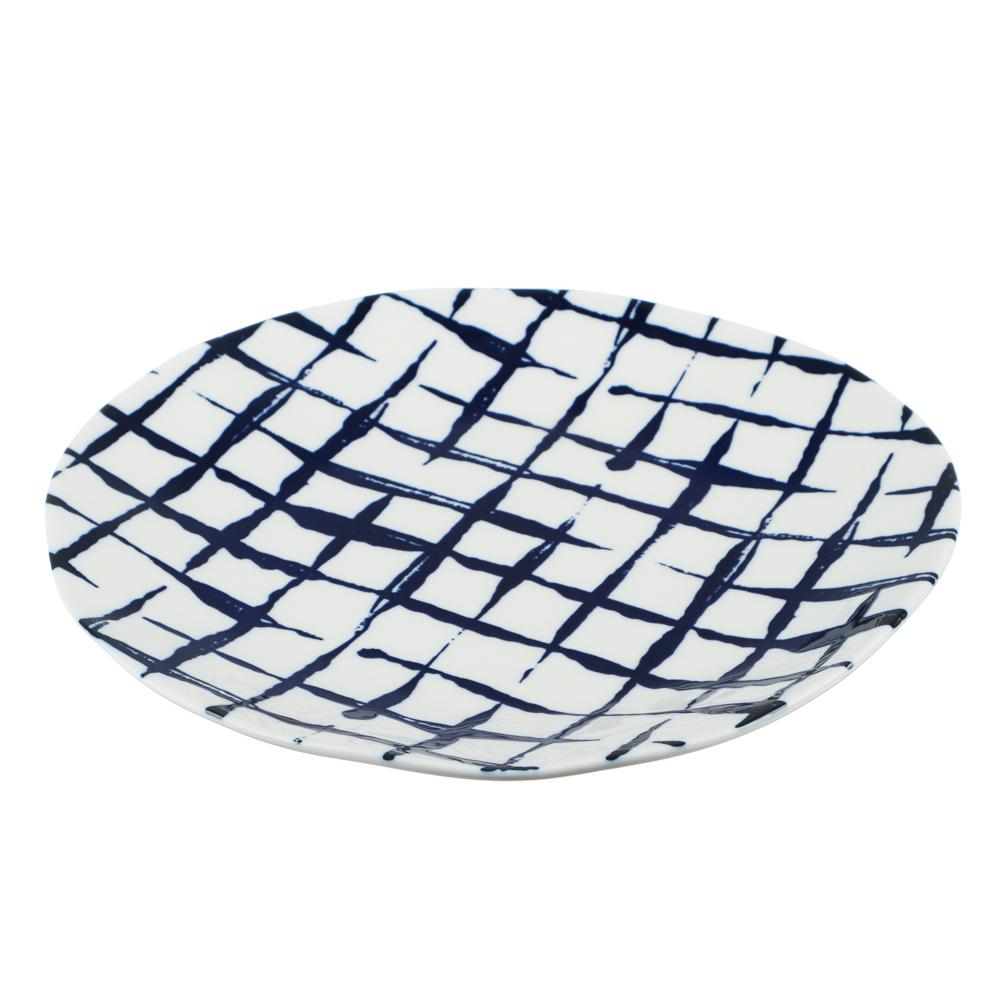 MILLIMI Индиго Тарелка десертная, 21х2см, керамика - 2