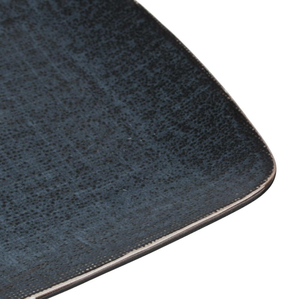 MILLIMI Блэк Джинс Блюдо прямоугольное, 27,5х18х2см, керамика - 3