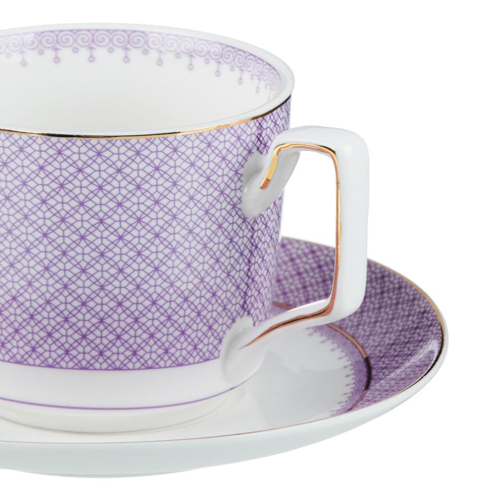MILLIMI Арлекин Набор чайный 4 пр., 260мл, 15см, костяной фарфор - 2