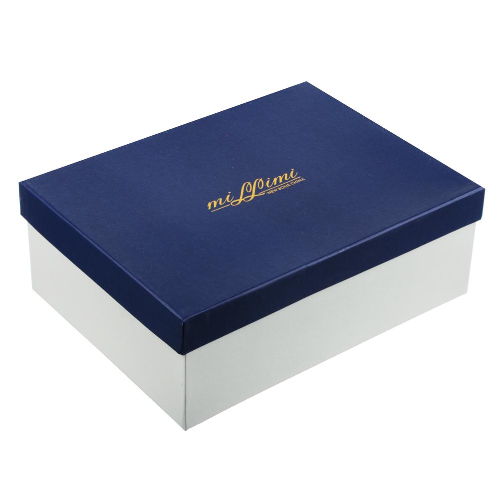 MILLIMI Арлекин Набор чайный 4 пр., 260мл, 15см, костяной фарфор - 5