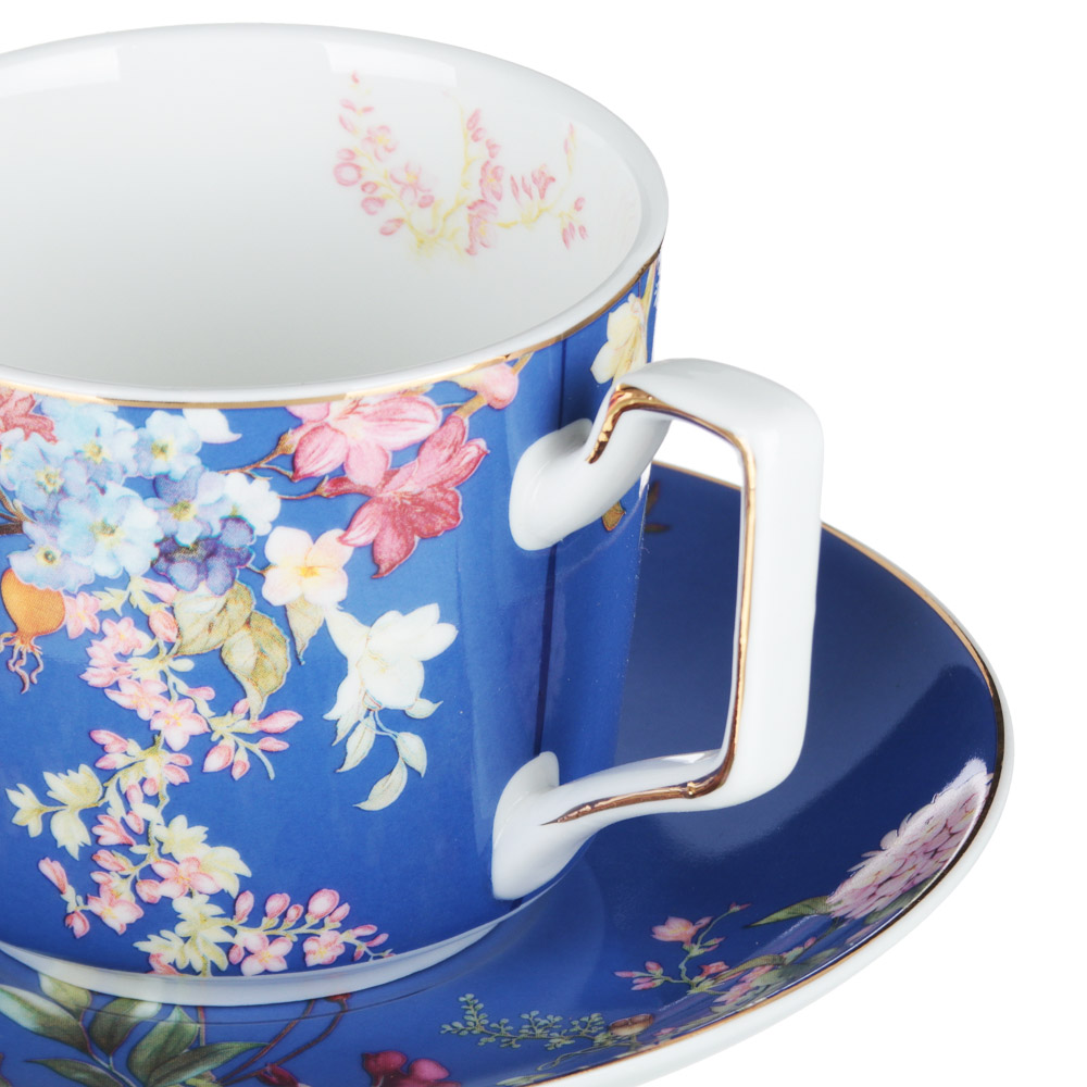 MILLIMI Японский сад Набор чайный 12 пр., 260мл, 15см, костяной фарфор - 2