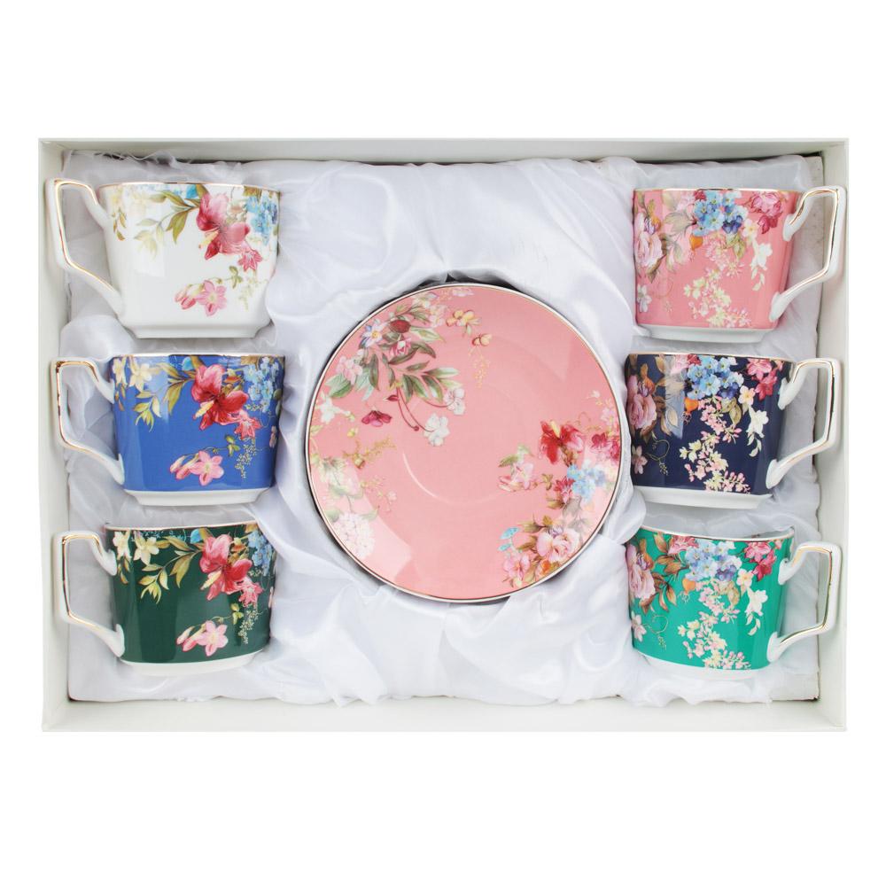 MILLIMI Японский сад Набор чайный 12 пр., 260мл, 15см, костяной фарфор - 4
