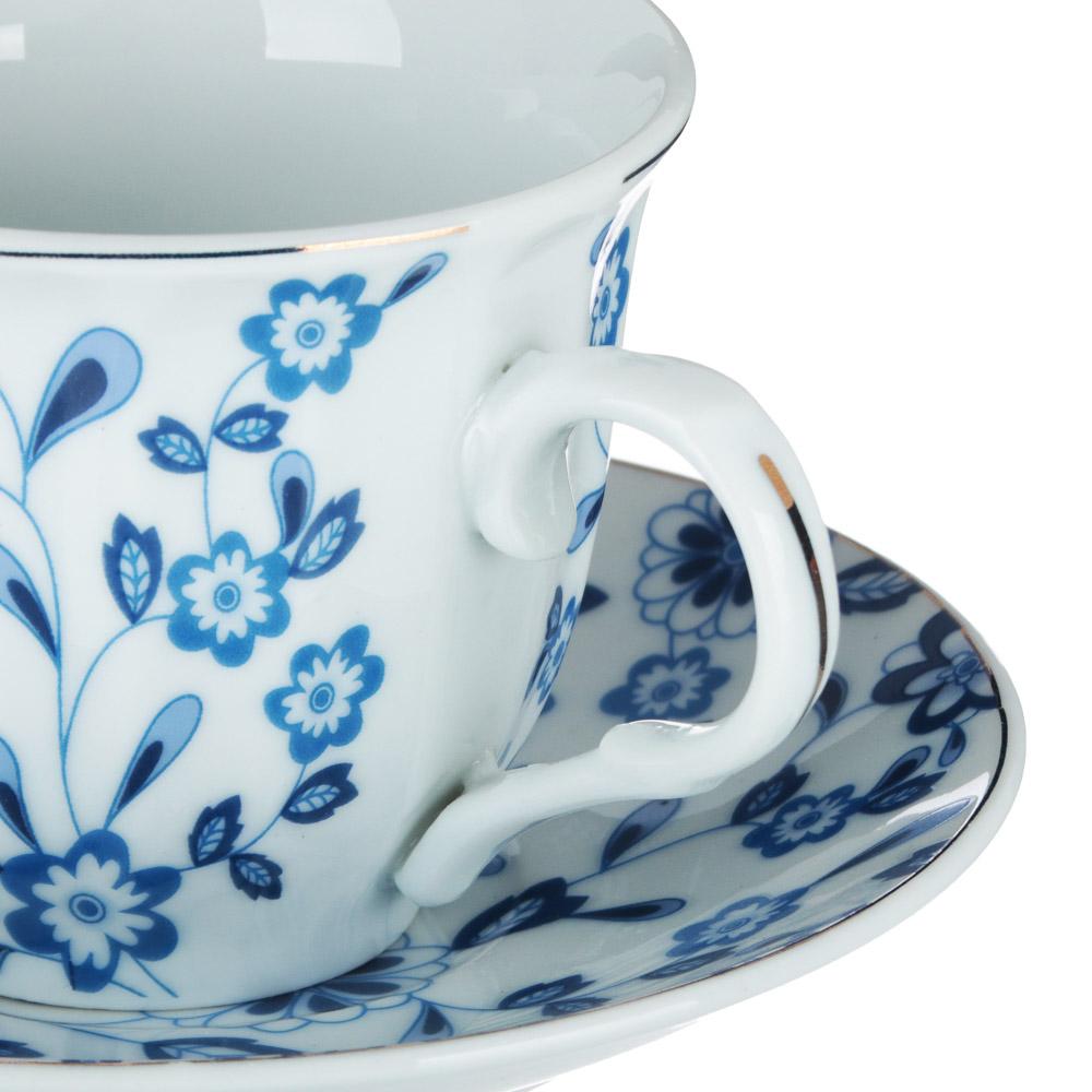 Амелия Набор чайный 12 пр., 220мл, 14см, фарфор - 2