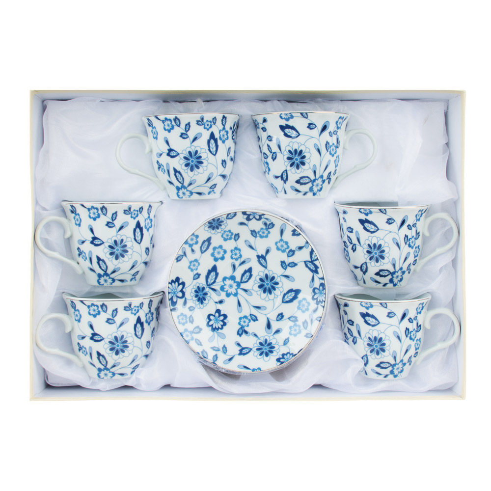Амелия Набор чайный 12 пр., 220мл, 14см, фарфор - 4