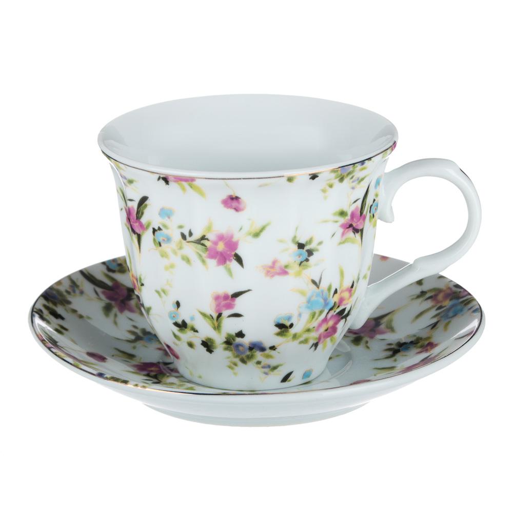 Весенний аромат Набор чайный 2 пр., 220мл, 14см, фарфор, 4 дизайна - 2